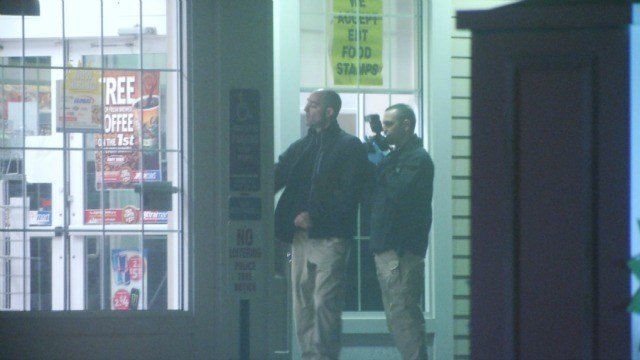 State police are investigating an armed robbery in Hebron early Friday morning. (WFSB)
