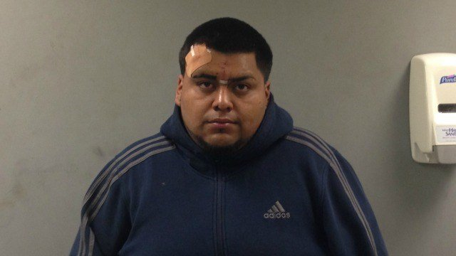 Yoni Rojas was arrested in connection with a dramatic crash that was caught on video. (CT State Police)