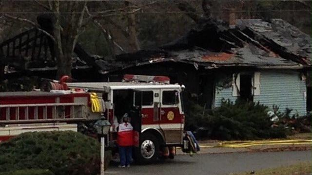 Roof collapse reported in Willimantic house fire (WFSB)