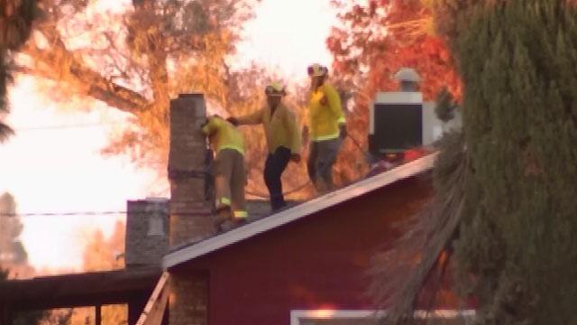 Suspected burglar dies in chimney after resident lights fire. (CNN)