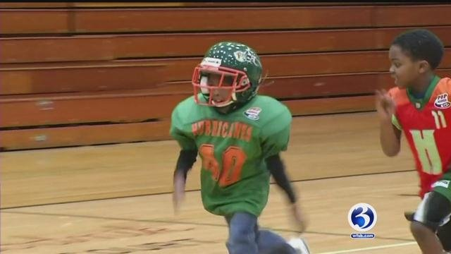 Hartford Hurricanes earned a trip to the Pop Warner Super Bowl Tournament. (WFSB)