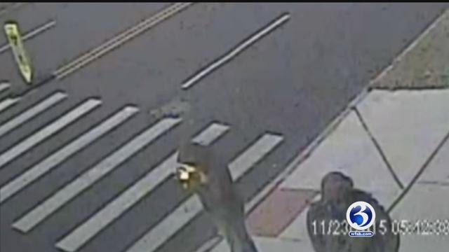 Police search for driver after  after hit-and-run in Hartford. (Hartford Police Department)