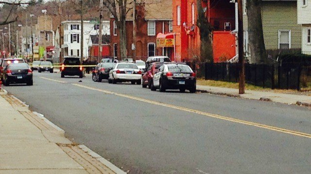 Shooting reported in the area of Capen and Martin streets in Hartford. (WFSB)