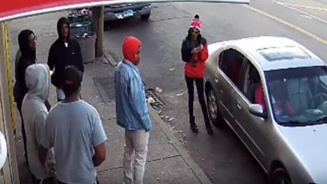 Waterbury police sought a suspect in a graphic shooting. (Waterbury police)