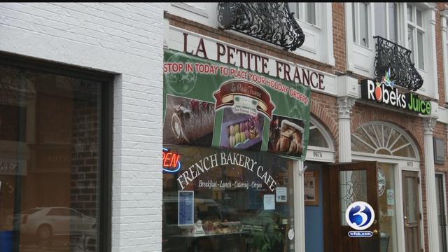 Bakery raising money for France (WFSB)