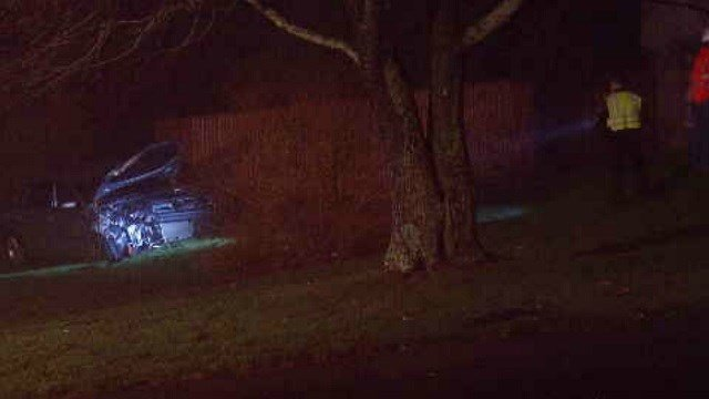 Crews respond after car hits home in Berlin (WFSB)