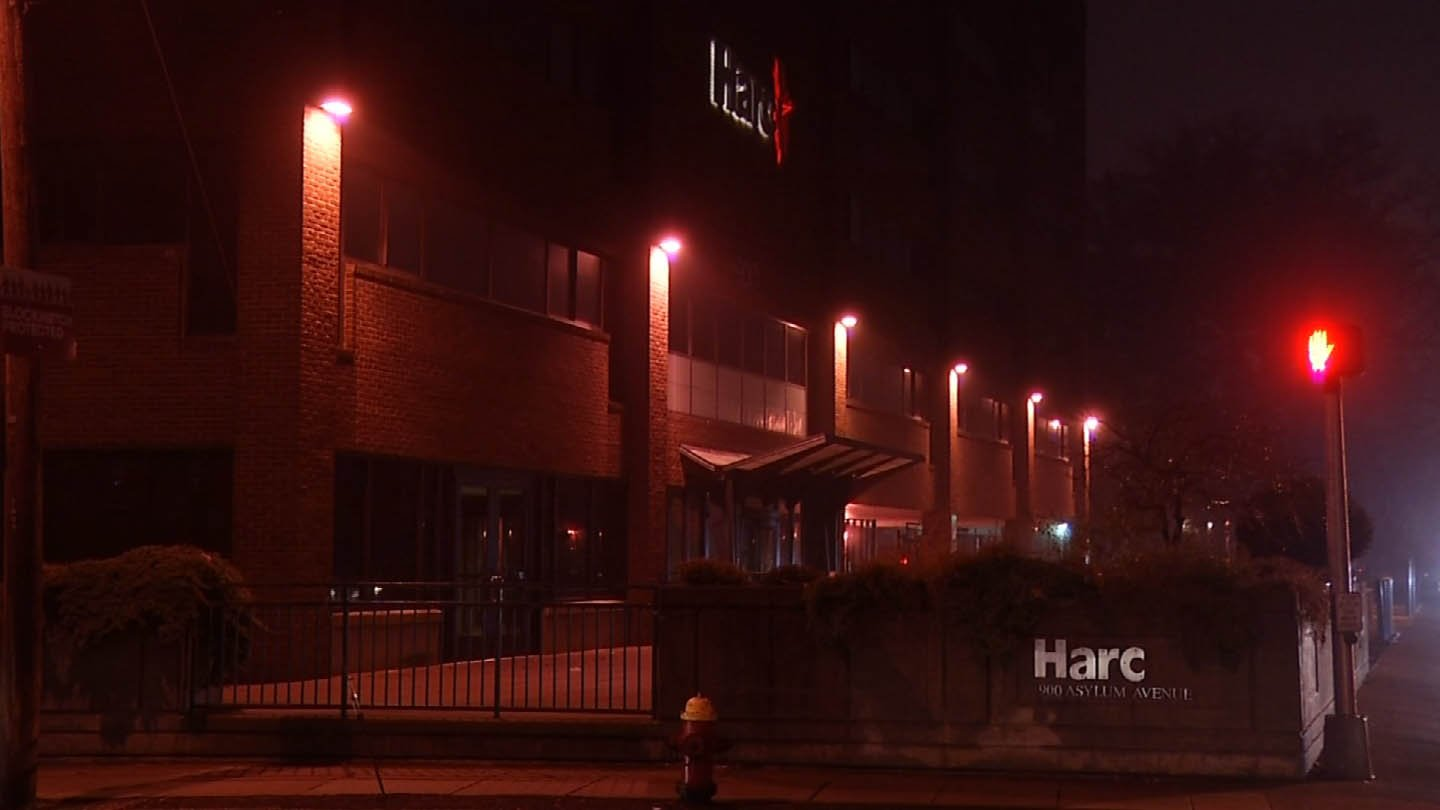 Gov. Dannel Malloy ordered extra patrols around DDS facilities like Harc in Hartford. (WFSB photo)
