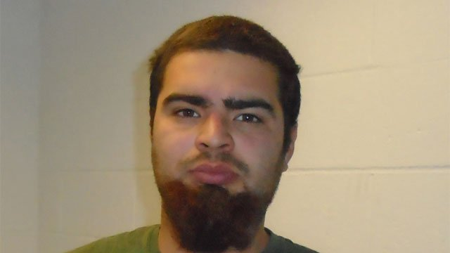 Alexander J. Villarreal was charged with threatening. (CT State Police)