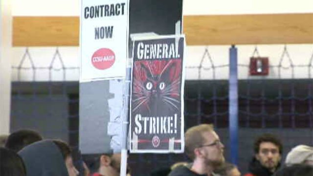Students and faculty are in an uproar over possible tuition hikes and moves that could impact professor pay. (WFSB)