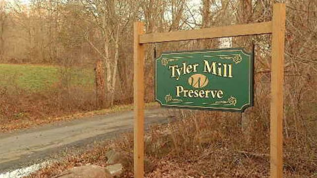 Police in Wallingford are investigating after a dog was found dead at a nature preserve on Thursday. (WFSB)