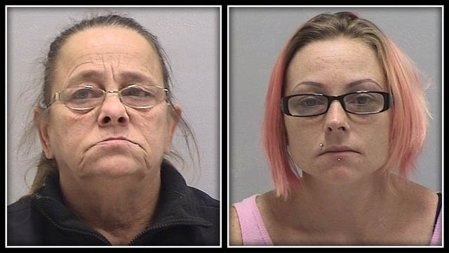 Mother, daughter arrested after alleged home invasion (Orange Police)