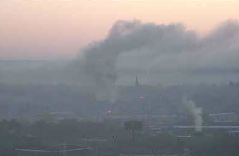 View from the WFSB New Haven City Cam