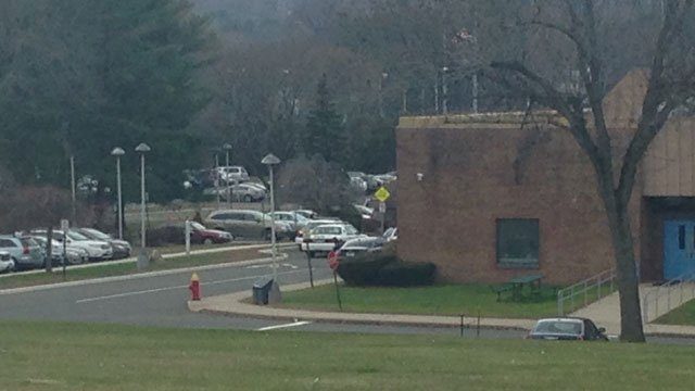 Extra police patrols were called to Hall High School in West Hartford after an unfounded threat. (WFSB)