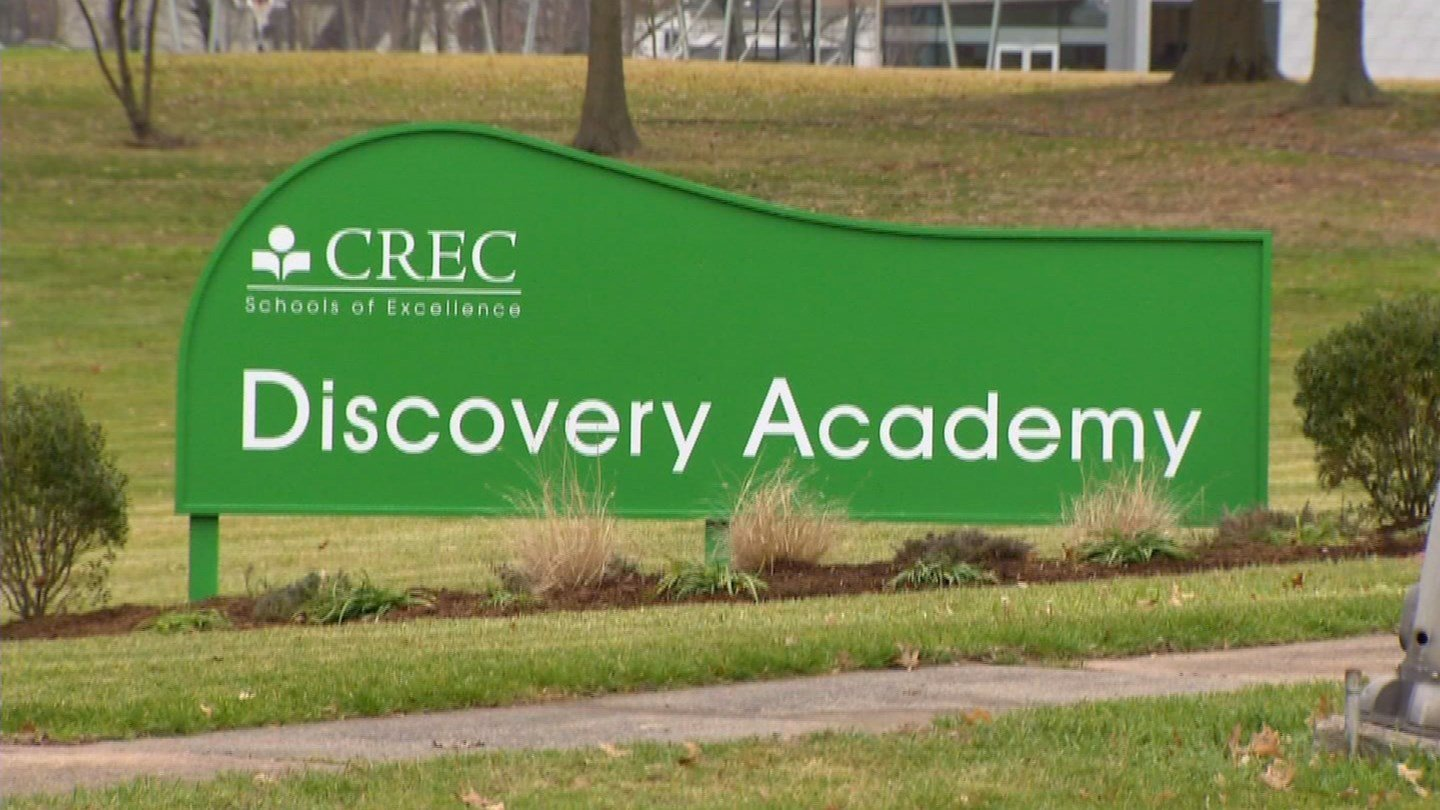 Smoke investigation reported at CREC Discovery Academy in Wethersfield. (WFSB)