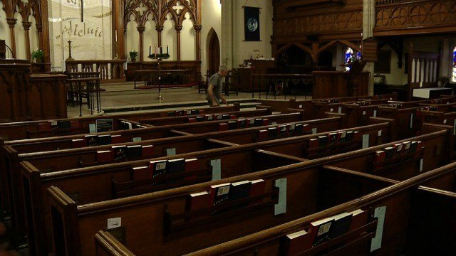 Officials at St. John's Episcopal Church are considering closing the building, due to money issues. (WFSB)