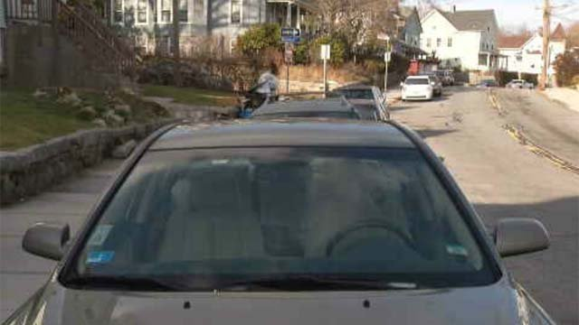 Parking is becoming an issue near Electric Boat in New London (WFSB(