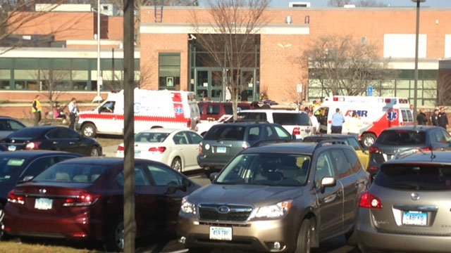 Students evacuated after getting sick at school. (WFSB)