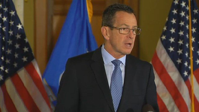 Gov. Dannel Malloy confirmed on Friday that there would be state layoffs. (WFSB file photo)