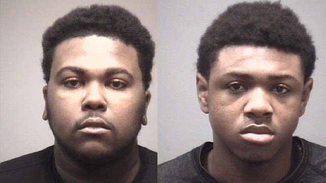 Kelton Gilbert and Lawrence Minor. (New Haven police photos)