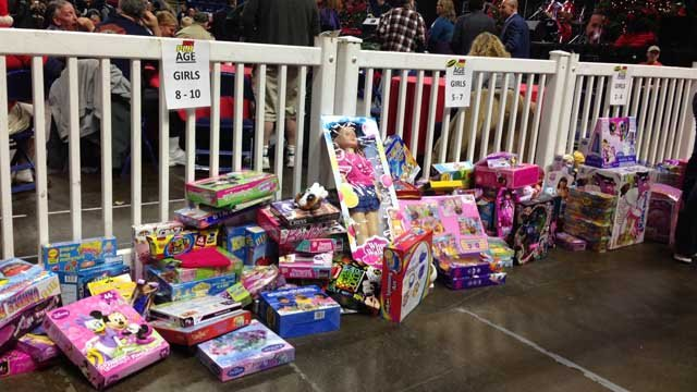 Chaz and AJ toy drive resumes on Friday morning. (WFSB file)