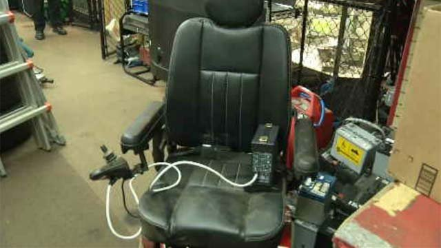 Motorized wheelchairs being donated in Norwich (WFSB)