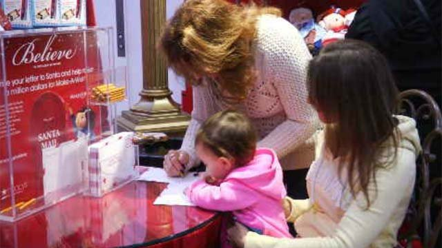 National Believe Day spreads holiday spirit at Westfarms Macy's (WFSB)