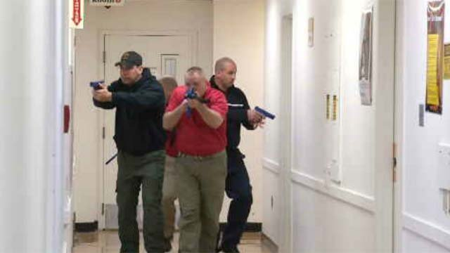 Connecticut officers train for active shooting situations (WFSB)