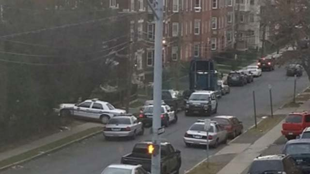Burr School in lockdown after shots fired in the area (WFSB)
