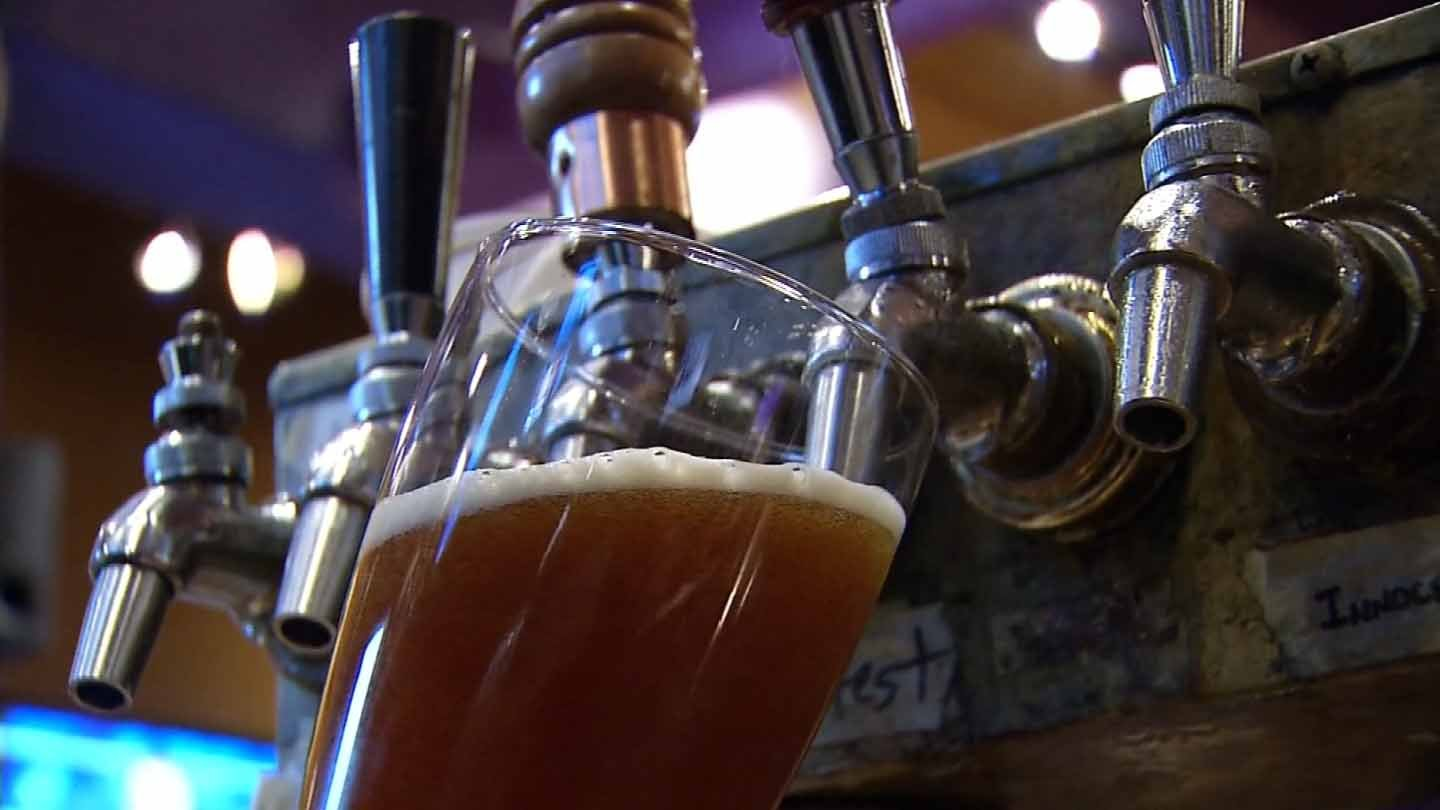 The Willimantic Brewing Co./Main Street Café is representing Connecticut on a recent list by CraftBeer.com. (WFSB photo)