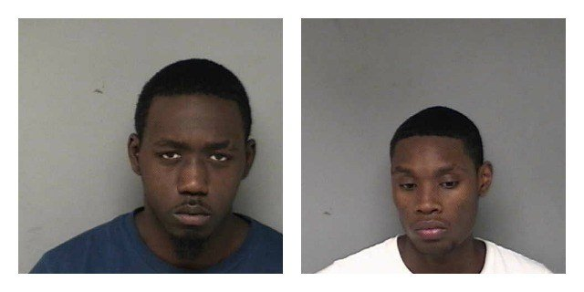 Connecticut State Police have arrested two men who they found to be in possession of counterfeit credit cards during a traffic stop. (State police)