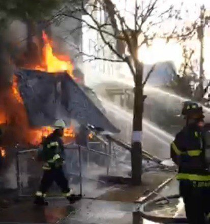 firefighters of new haven Posted in: fire scene photos, new tagged: cng truck fire, fire scene photos,  glenn duda, new haven fire department, squadfirephotoscom, working fire in.