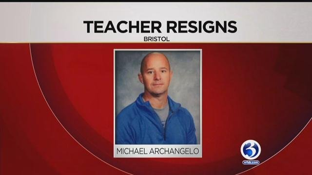 Mike Archangelo has resigned from Bristol Eastern School. (WFSB)