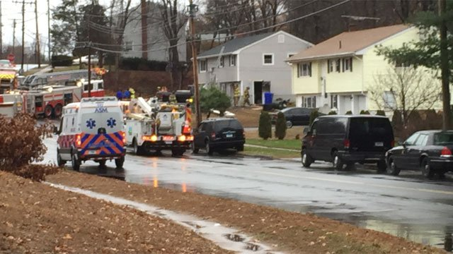 Fire reported on O'Connoll Drive in East Hartford. (WFSB)