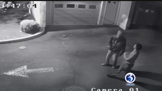 Stamford Police Department released this video of the shooting.