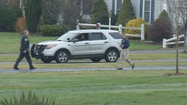 Police are investigating an incident in Ellington. (WFSB)