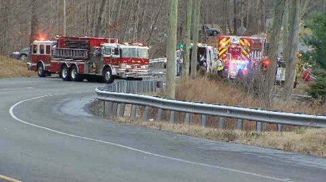 Serious crash closes part of Route 6 in Bolton (WFSB)