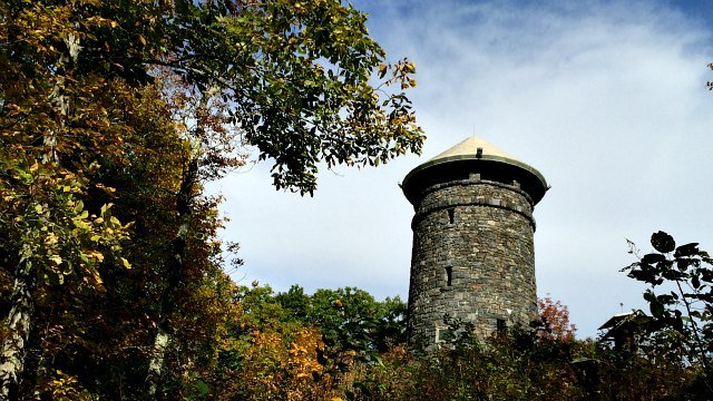 Tower at Haystack Mountain in Norfolk