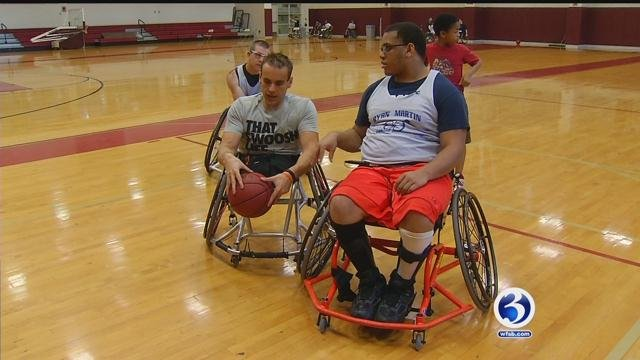 CT native created foundation to help wheelchair-bound athletes (WFSB)