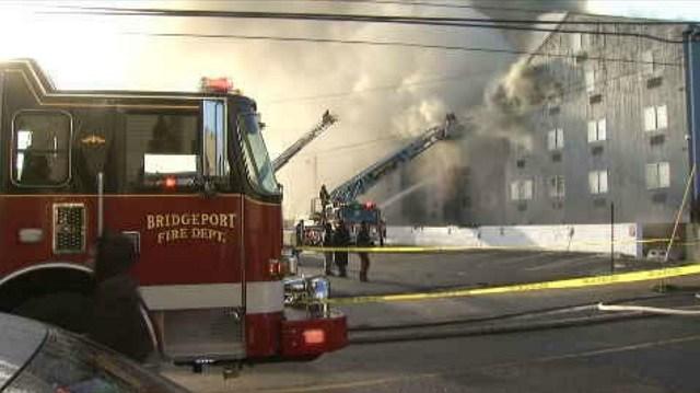 120 displaced after Bridgeport fire (WFSB)