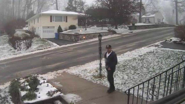 The Waterbury Police Department released this photo of a man wanted for questioning in home break-ins.