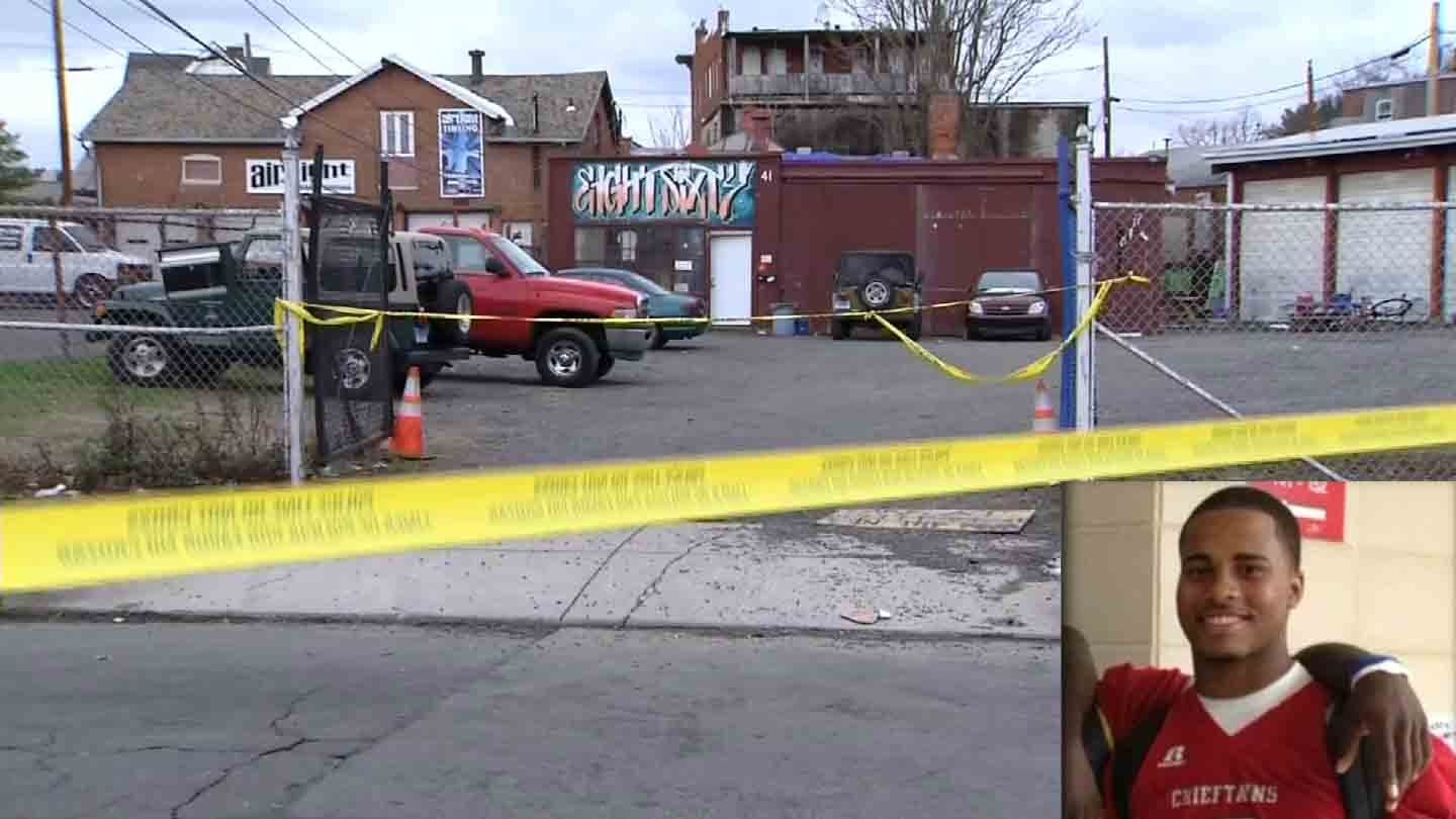 Jonathan Douglin was stabbed to death outside of the Eight Sixty Customs skate park on New Year's Day, according to police.