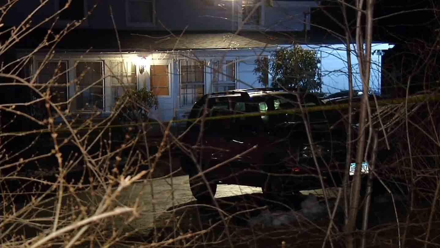 Police are looking for three suspects accused of shooting a man during a home invasion in Southington. (WFSB photo)