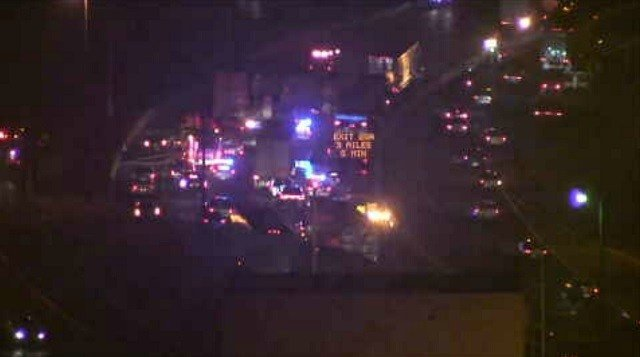Serious multi-vehicle crash closes I-84 in Waterbury (WFSB)