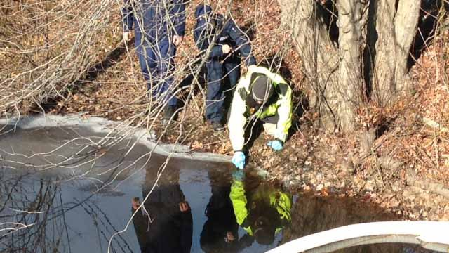 DEEP sampled the water and air following the fire. (WFSB photo)