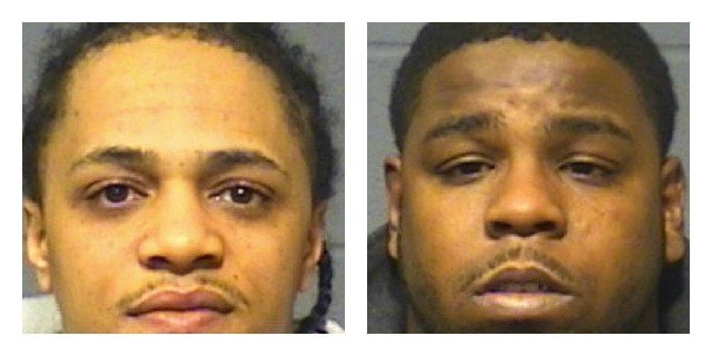 "Dwayne ""Crash"" Hairston and Eric James ""Nut"" Williams were arrested in connection with a Hartford human trafficking case. (Hartford Police Department)"
