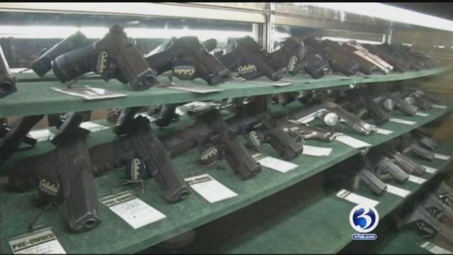 Quinnipiac University poll showed that 86 percent of United States voters think people on the terrorist watch list should not be allowed to purchase a gun. (WFSB file photo)