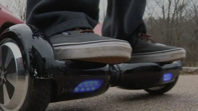 Connecticut colleges ban hover boards on campus. (WSMV)