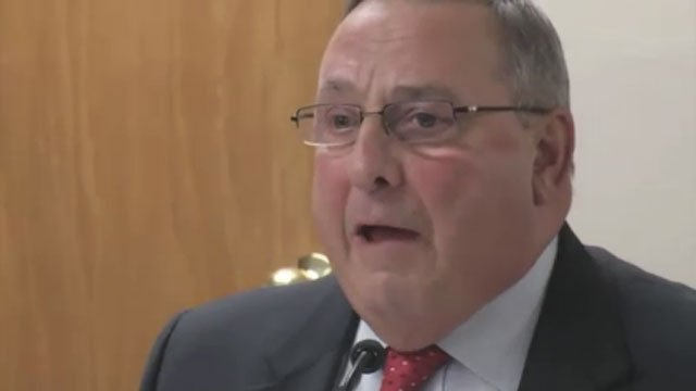 Paul LePage says he is sorry for remark about 'young white' girls. (CNN)