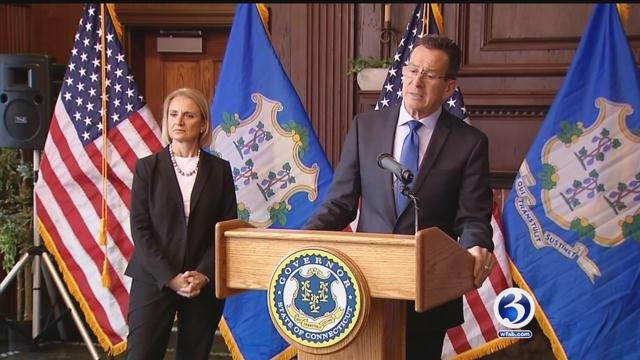 Governor Dannel Malloy explained why he disagreed with Donald Trump. (WFSB)
