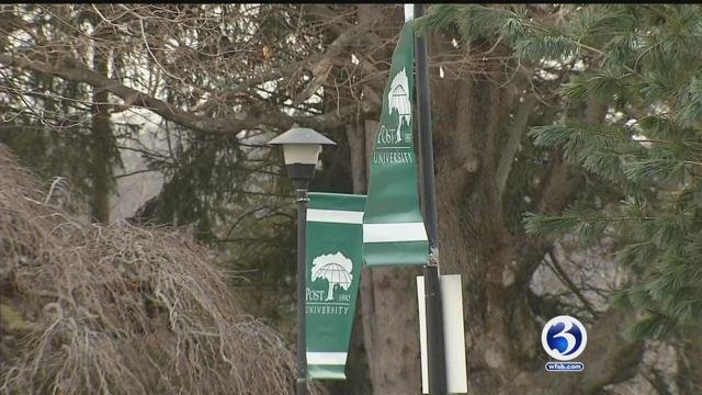 Post University in Waterbury is eliminating full-time positions. (WFSB)